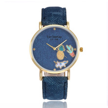 2018 New Fashion Cartoon Watch Women Leather Strap Wristwatch Casual Quartz Ladies Watches For Lady girl Gift dames horloges fashion watch lady s girl quartz bangle horloge dames rhinestone wristwatches gift with box free ship