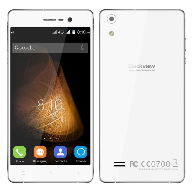 Original Blackview Omega Pro With 5.0 Inch HD 4G Smartphone Android 5.1 MTK6753 64 Bit Octa Core 3GB RAM+16GB ROM 13.0MP