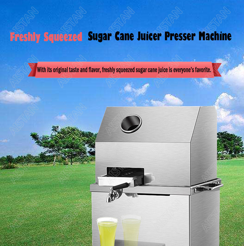 LFS17/LFS17T electric stainless steel commercial sugar cane juicer presser machine 1