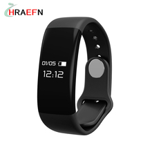 Hraefn Bluetooth Smart Band H30 монитор сердечного ритма SmartBand Спорт Браслет фитнес-трекер для Android IOS PK Xiaomi Mi band 2
