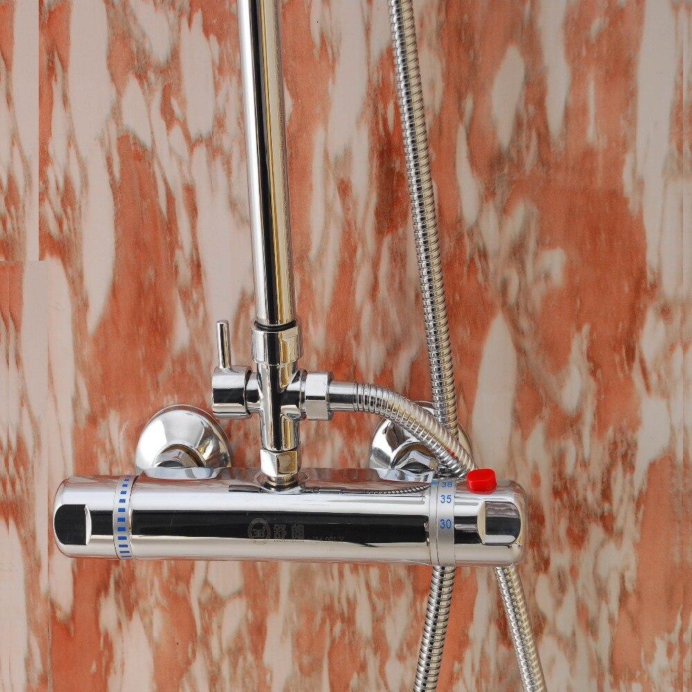 robinet mitigeur de douche thermostatique robinet de bain a bas prix robinet de salle de bains robinets de douche muraux en laiton ensembles