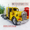 Brand New Classical USA Peterbilt 389 Truck Handmade Metal Artefact Car Model Toy For Collection/Gift/Decoration