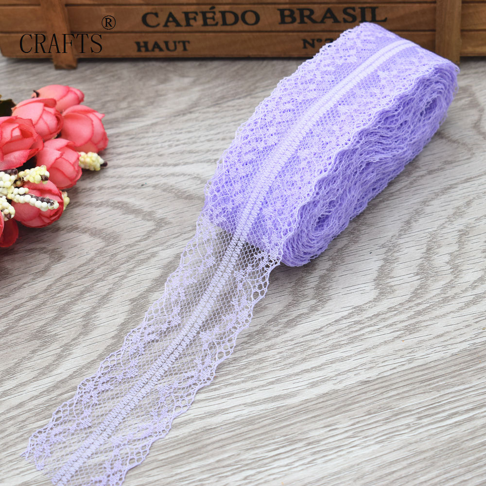 HTB1L.e0iL5TBuNjSspmq6yDRVXaZ New! 10 yards beautiful lace ribbon, 3.8 cm wide, DIY decoration accessories, holiday decorations