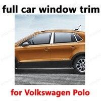 Декоративные полосы из нержавеющей стали для Volkswagen Polo