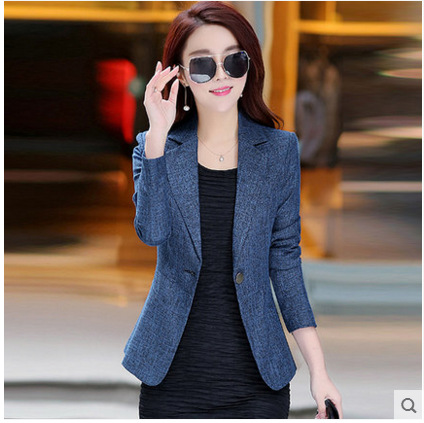 Korean Style Plus Size Long Sleeve Women Ladies Cape Blazer Women Sexy Slim Elegant Jacket Blazer Female Casual Blazer