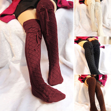 new arrival Women Cable Knit Extra Long Boot Socks Over Knee Thigh High Warm Soft Casual knitting
