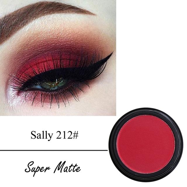 PHOERA Smoky Eyeshadow Palette Powder Matte Shimmer Eye Shadow Palette Make Up Cosmetic maquiagem Tint 12 colors TSLM2 4