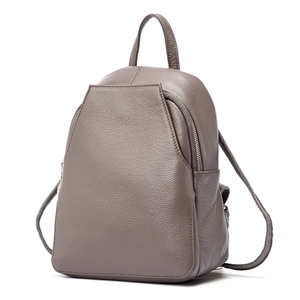 Image 4 - Zency New Arrival Women Backpack 100% Genuine Leather Ladies Travel Bags Preppy Style Schoolbags For Girls Knapsack Holiday