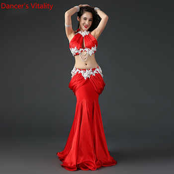 New Professional Belly Dance Bra+Skirt Oriental Women Belly Dance Costumes Belly Dance Performance Suit - DISCOUNT ITEM  10% OFF All Category