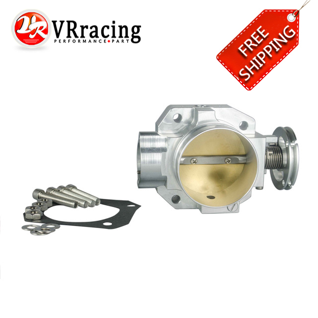 VR RACING - FREE SHIPPING THROTTLE BODY FOR HONDA B16 B18 D16 F22 B20 D/B/H/F NEW THROTTLE BODY 70MM EF EG EK DC2 H22 D15 D16 купить