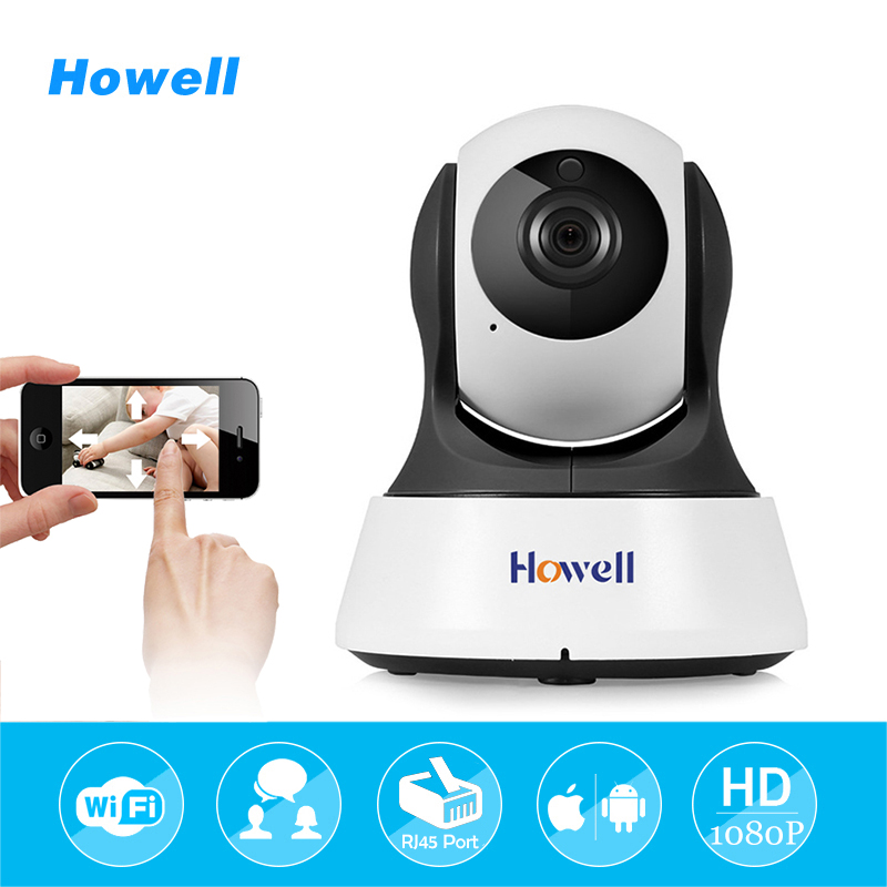 Howell HD 1080P Video Surveillance Camera IP Wifi Wireless Home Security Baby Monitor Night Vision CCTV Camera IP Cam with Audio new home security ip camera wireless wifi camera surveillance 720p night vision cctv baby monitor hd infrared video surveillance