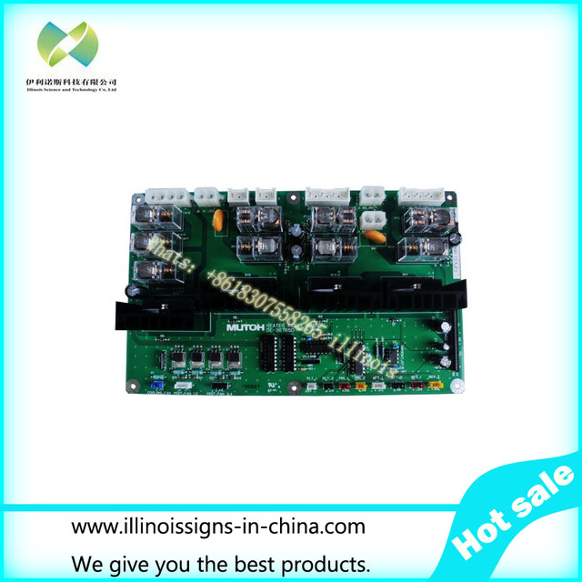 Original Mutoh VJ-1204 / VJ-1304 / VJ-1604 Heater Relay Board--DF-49661