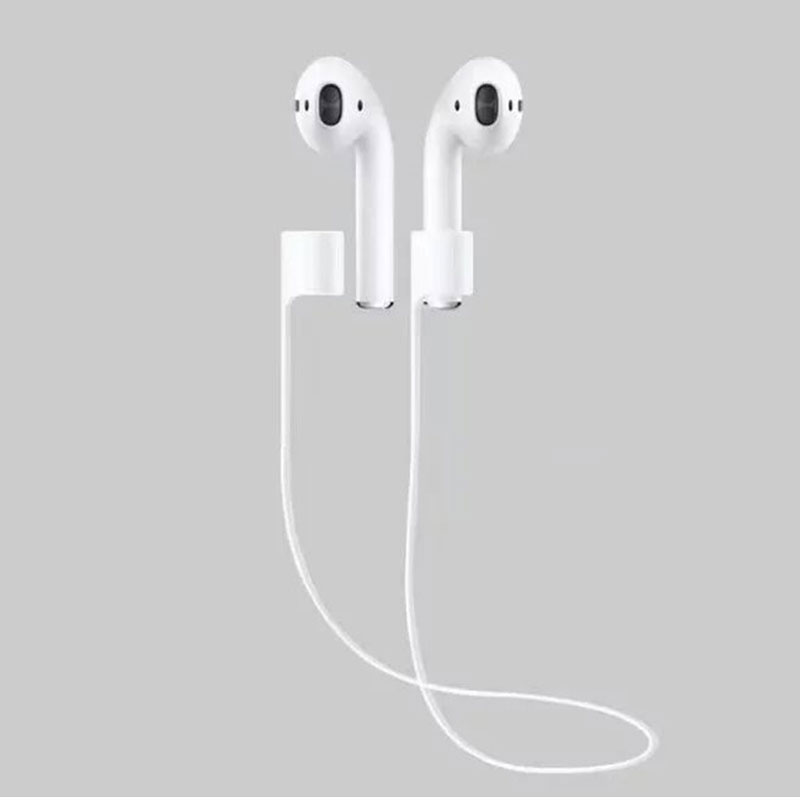 For Apple AirPods Strap Earphone Accessories Anti-Lost Headphone Strap For Apple Earphones Silicone String Rope For Air Pods