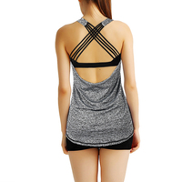 Vertvie Breathable Gym Sports Bra Top For Fitness Vest Women Yoga Top Women S Tracksuits Sexy