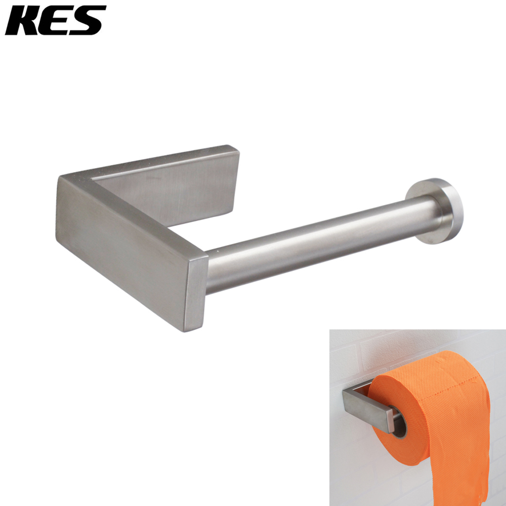 Kes Sus 304 Stainless Steel Bathroom Lavatory Toilet Paper Holder And Dispenser Wall Mount