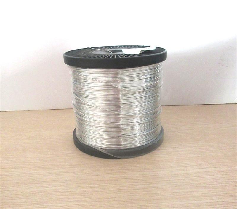 Fio de cobre estanho ambiental 0.45/0.5/0.6/0.8/1.0/1.2/1.5/1.8/2.0/2.5/3.0mm Jumper fio de Cobre Estanhado fio de cobre nu para PCB