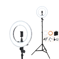 5500K 240 LED 55W Photographic Lighting Dimmable Camera Photo Studio Phone Video Photography Ring Light Lamp