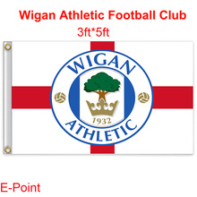 England Wigan Athletic FC decoration Flag B 3ft*5ft (150cm*90cm)