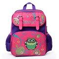 Delune Brand 2016 New European 1-3 grade Children School Bag Girls Kids Backpack Cartoon Mochila Infantil Orthopedic Schoolbag