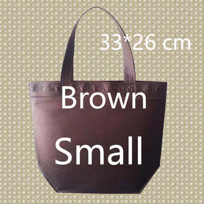 26*33*10 Small Size Shopping Bag Foldable Reusable Grocery Bags Convenient Totes Bag Shopping Red Cotton Tote Bag etya women reusable shopping bag printing unisex foldable cotton drawstring grocery shopping bags hot sale case pouch