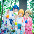 Anime Lovelive! Ayasei Eli Kotori Minami Yazawa Niko anime total people group love live cosplay bathrobe Yukata kimono costume
