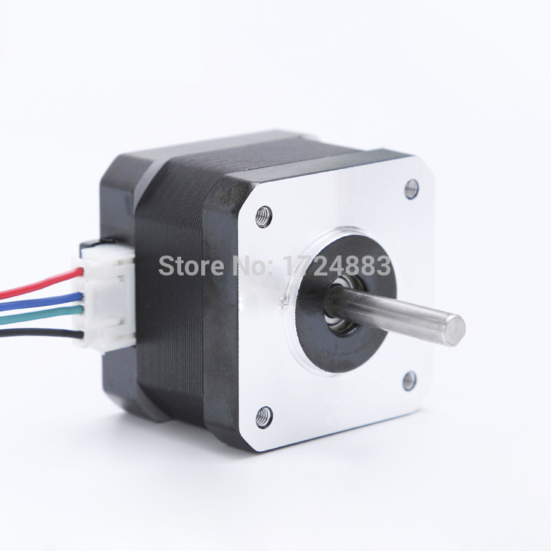 High torque 42 Stepper Motor 2 PHASE 4-lead Nema17 motor 42BYGH14 33.5MM 1.4A 0.31N.M LOW NOISE (17HS1401) motor for CNC XYZ