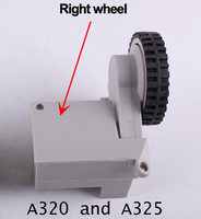 A325 And A320 Spare Parts Robot Vacuum Cleaner Wheels Including Right Wheel Assembly X 1pcs Free