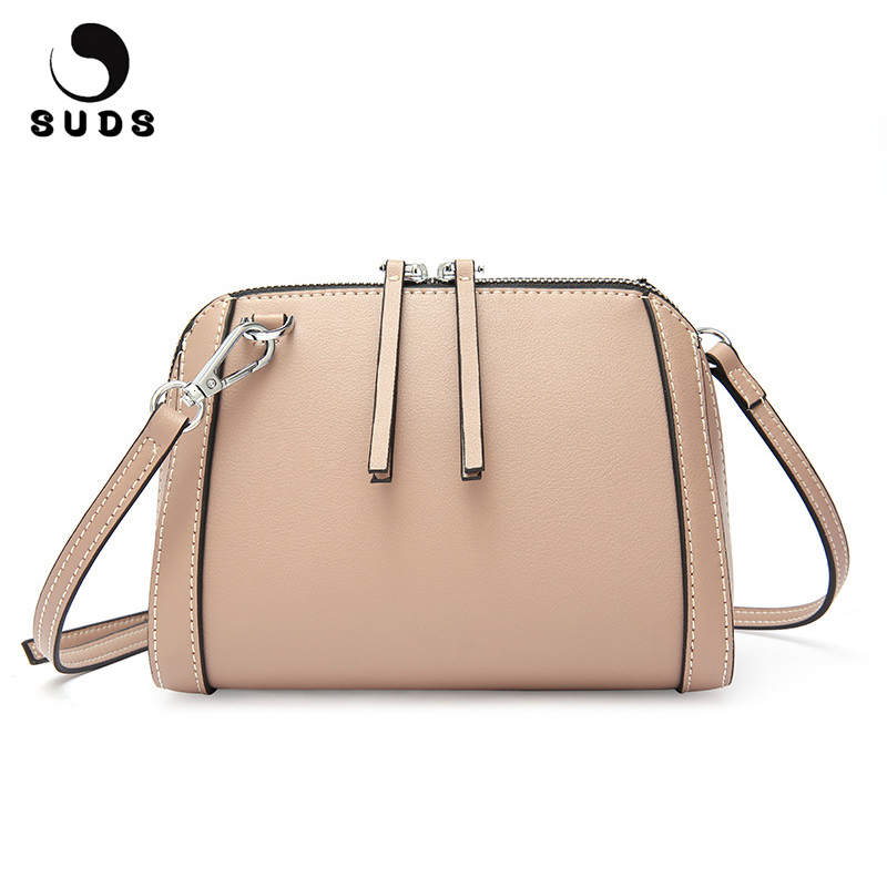 SUDS Brand Genuine Leather Crossbody Bags For Women Luxury Handbags Women Bags Designer 2018 Summer Fashion Women Messenger Bags suds brand women casual 100