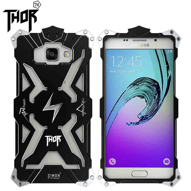 sale retailer 07684 aa782 US $16.99 |Fashion Simon for samsung galaxy j3 Shockproof Metal Thor  Ironman Protect Cases for samsung j3 j3000 Phone Cover Case on  Aliexpress.com | ...