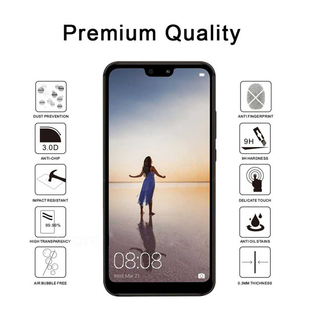 Novedoso pack de 5D vidrio templado para Huawei Mate 10 Lite P10 P20 Lite Pro 9H Protector de pantalla de cristal para el Honor 9 10 Lite película protectora cristal templado huawei p20 pro protestor de pantallas movil