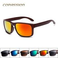 2017 Retro men womens sunglasses brand designer Imitation Wood sunglass driving glasses uv400 steampunk goggles gafas de sol