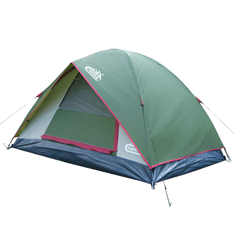 Camppal Top Quality Outdoor Camping Tent 1-2 Person Waterproof Double Layer Hiking Camping Tent outdoor camping hiking automatic camping tent 4person double layer family tent sun shelter gazebo beach tent awning tourist tent