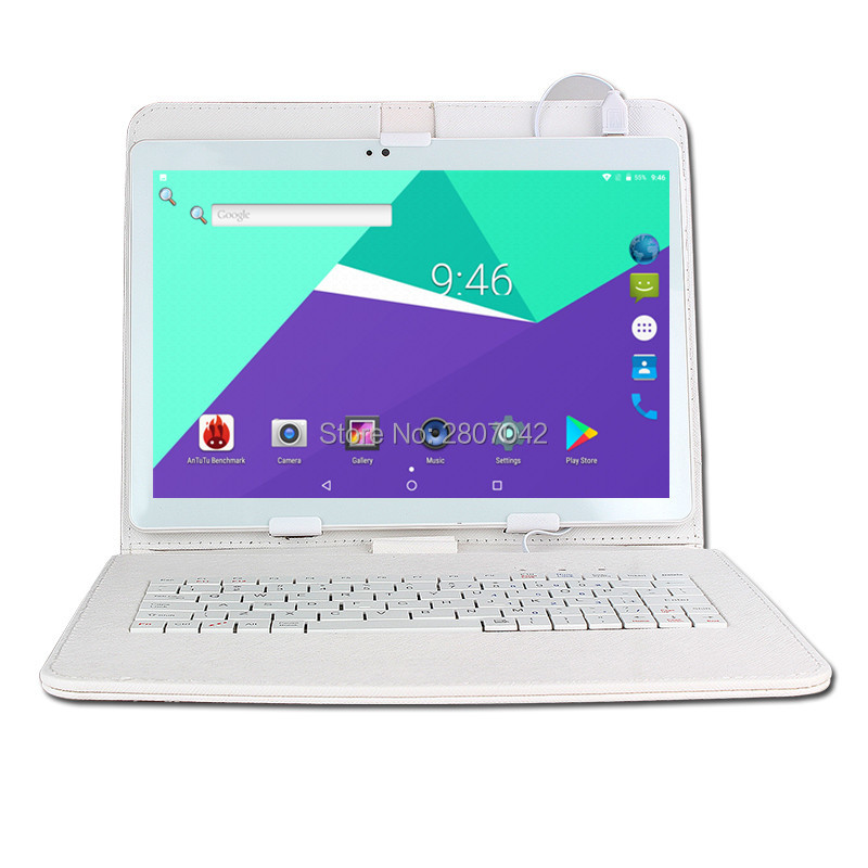 10 inch Octa Core 3G/4G Tablet pc 4GB RAM 64GB ROM 1920*1200 Dual Cameras Android 7.0 Tablets 10.1 inch keyboard Free Shipping10 inch Octa Core 3G/4G Tablet pc 4GB RAM 64GB ROM 1920*1200 Dual Cameras Android 7.0 Tablets 10.1 inch keyboard Free Shipping