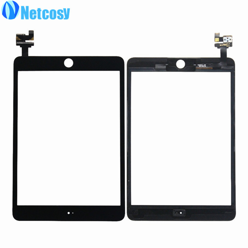 Netcosy Touch Screen Digitizer Glass panel with IC Connector Replacement parts for iPad mini 3 Touchscreen replacement lcd digitizer capacitive touch screen for lg vs980 f320 d801 d803 black