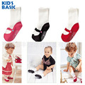 1-3 years Shoes like High Quality Babies Girls and Boys Cotton Solid Rubber anti-slip Floor Unisex Socks