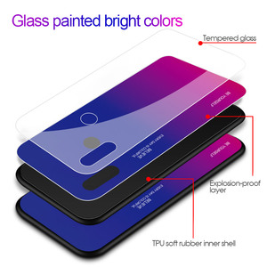 Image 5 - Gradient Tempered Glass Case For Asus Zenfone Max (M2) ZB633KL For Asus Zenfone Max Pro (M2) ZB631KL Max Pro (M1) ZB601KL ZB602K