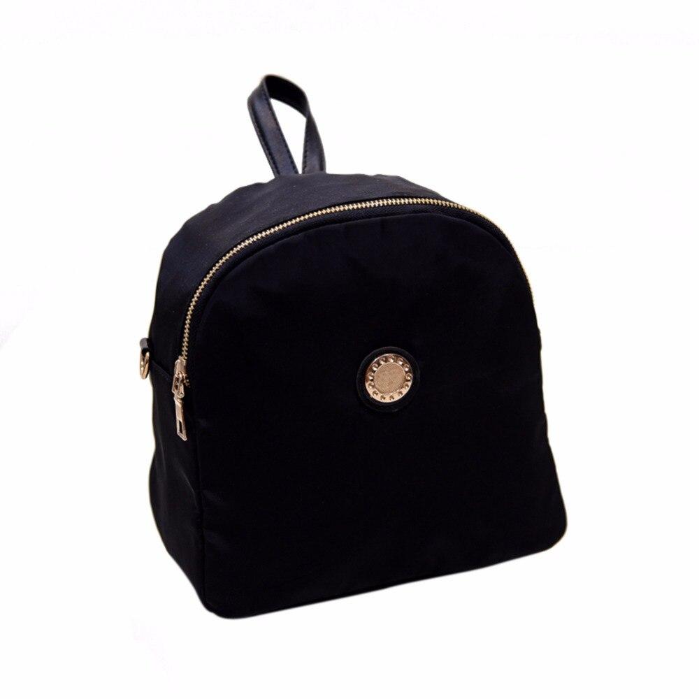 New Korean Women Backpack Waterproof Nylon Backpack Ladies Small Backpacks School Book Bag for Girls School