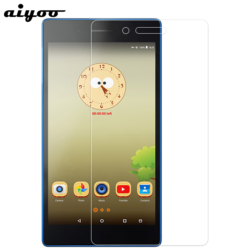 Aiyoo Tempered Glass Screen Protector For Lenovo Tab 3 7 730F 730M 730X Tab3 7 7.0 TB3-730M TB3-730F TB3-730X Tablet Glass Film