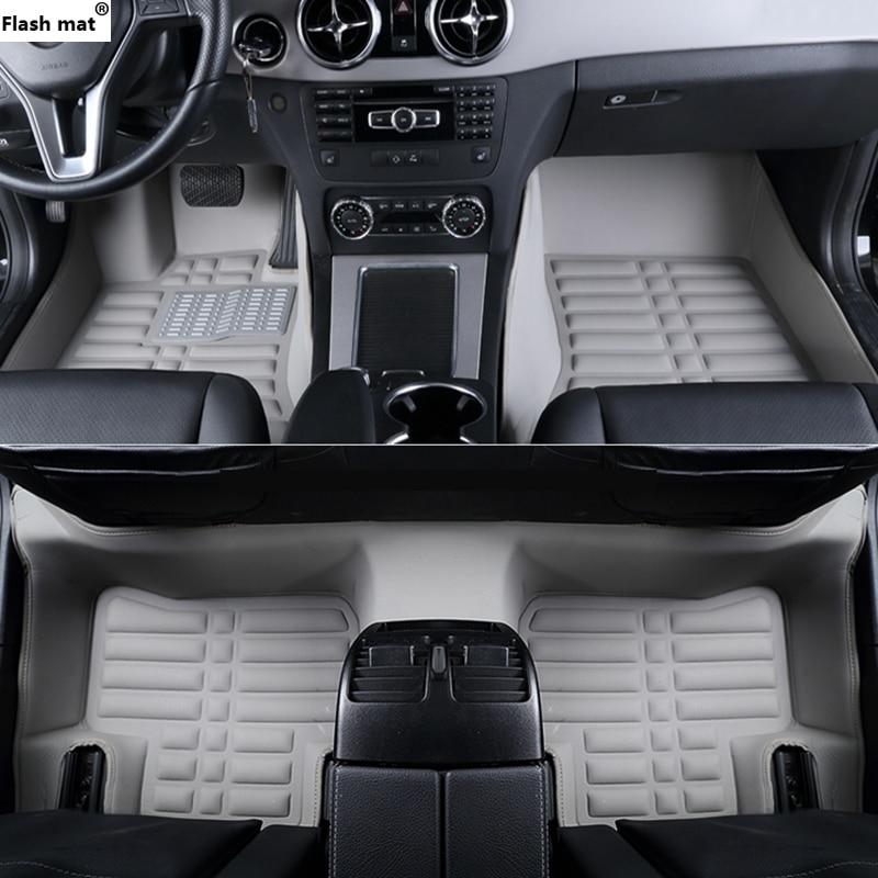 Flash mat car floor mats for Opel All Models Astra h j g mokka insignia Cascada corsa adam ampera Andhra zafira Car-styling floor