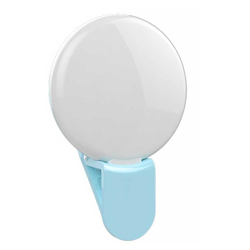 С Cla вспышка световое кольцо селфи легкий вес ультра яркий удобный УФ Макияж Зеркало заполняющий свет для IPhone Android смартфон