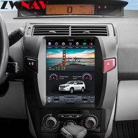 ZWNVA Tesla style IPS Screen Android System Car GPS Navigation DVD Player For Citroen C4 Quatre Triumph 2004 2012 Radio stereo