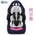 Asiento de coche de seguridad para niños del bebé 9 meses-0-3-4-12 años de edad interfaz ISOFIX coche