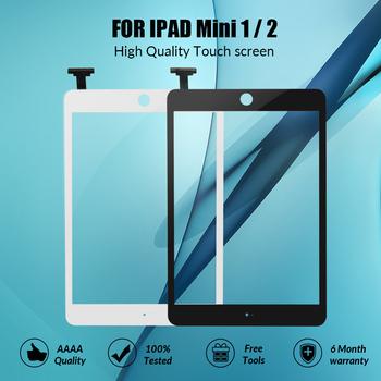 Ekran dotykowy jakości AAA dla ipada mini 1 2 ekran dotykowy szkło Digitizer dla ipada mini1 mini2 A1432 A1454 A1455 A1489 tanie i dobre opinie ZORWING NONE Panel dotykowy do tabletu CN (pochodzenie) 7 ~ 10 cal For ipad Mini 1 mini 2 touch screen Ekran pojemnościowy