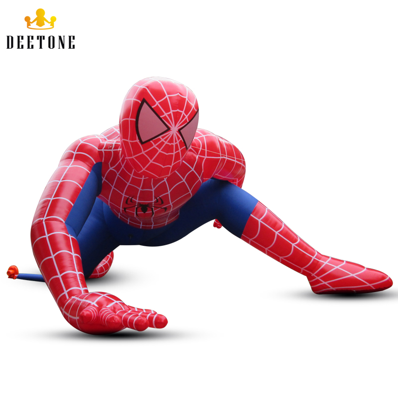 Deetone 4 3mh Outdoor Giant Inflatable Spiderman Inflatable
