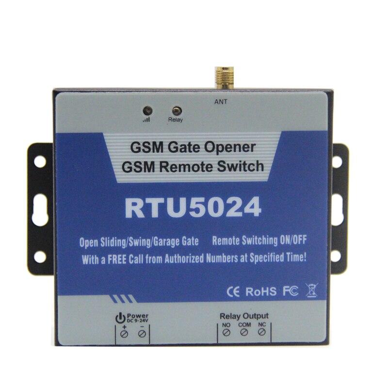 GSM Ouvreur de Porte Relais Commutateur de Contrôle D'accès À Distance Sans Fil Porte Ouvre Par Appel Gratuit Roi Pigeon RTU5024 - 3