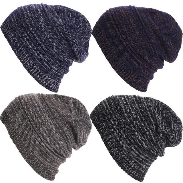 Rayas punto gorros cabeza gorra invierno esquí al aire libre nieve caliente  gorras para hombres mujeres 55880a64118