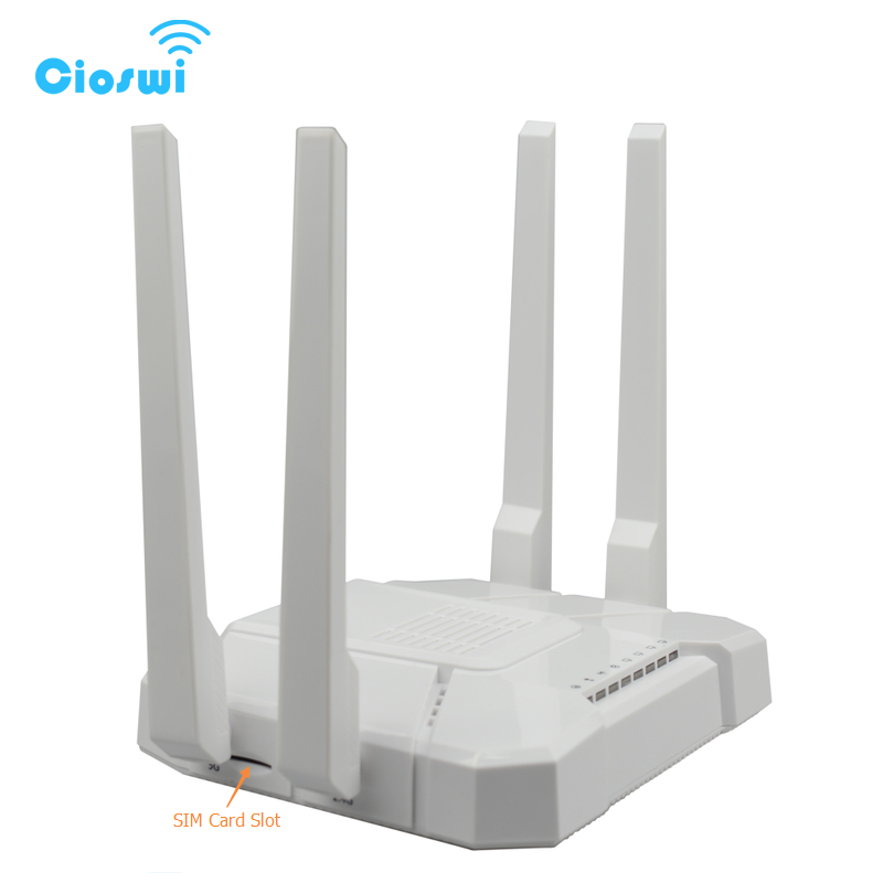 Image 5 - 3G 4G lte router openWRT mt7621 dual core chipset with 4 external omni antennas 2.4G/5GHz dual band Office wireless wifi router-in Wireless Routers from Computer & Office