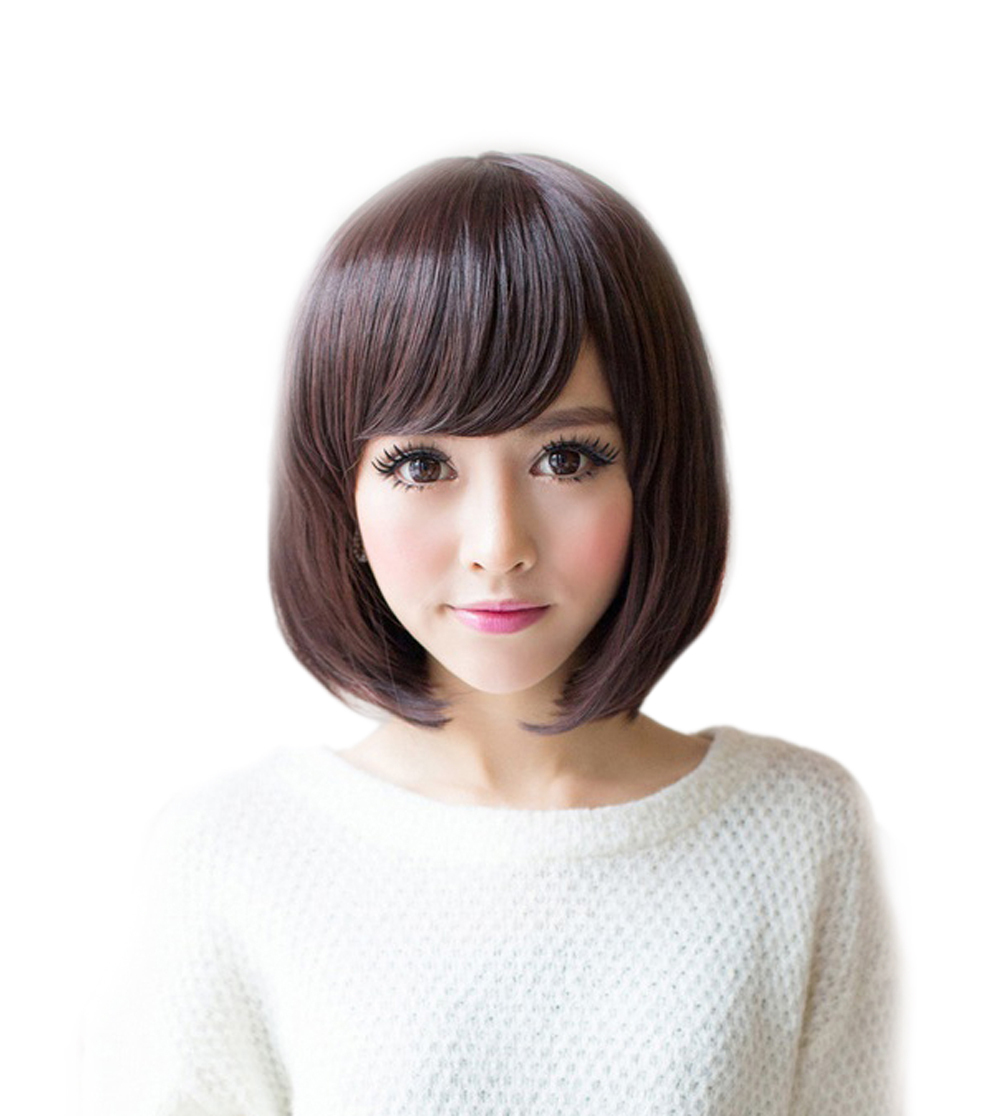 Beautywig Girls Full Wig Cap Sweet Girls Hot Selling Bob Haircut