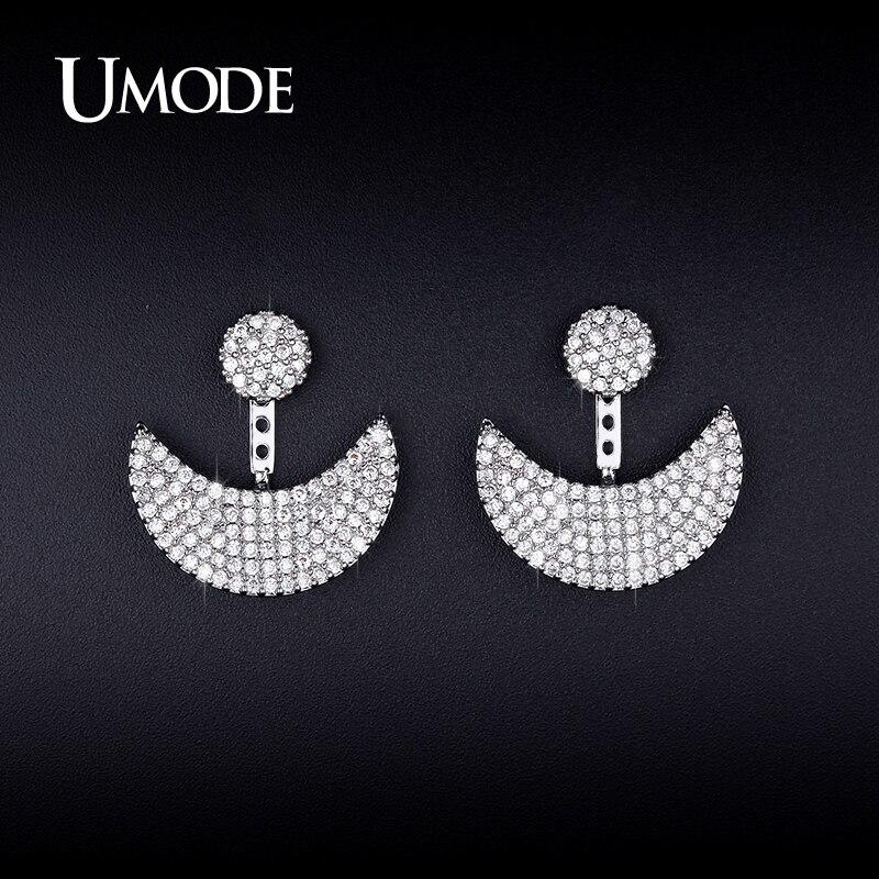 font b UMODE b font New Crystal Dangle font b Earrings b font For Women