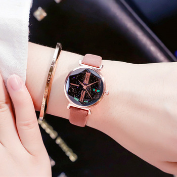Fshion Watch Girl Student Korean Version Concise Ulzzang Trend Chic Retro Leisure Star Famous Style Watches Women